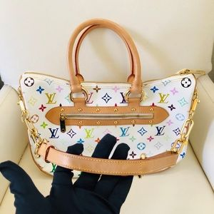 Louis Vuitton Rita Monogram Multicolor in white!
